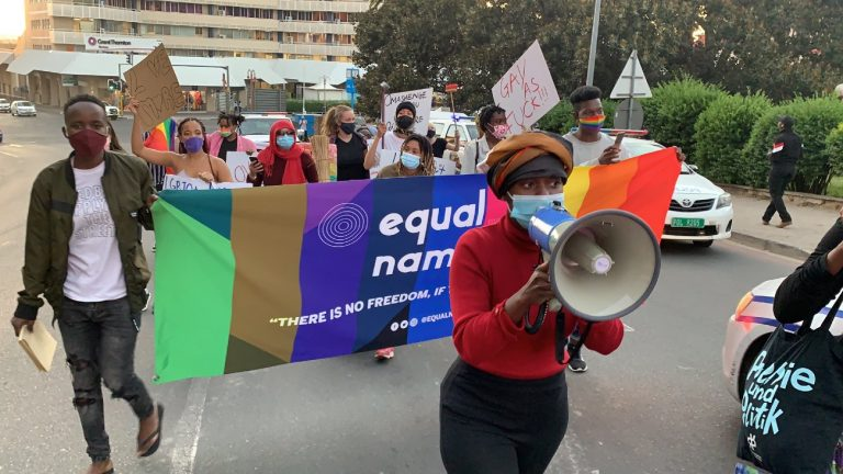 Namibie equal rights movement