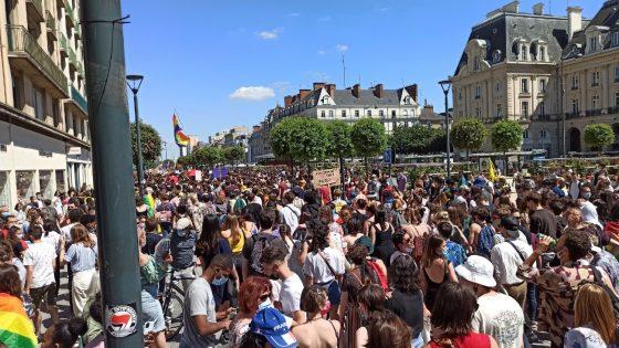 Marche des fiertés: au moins 4 500 personnes à Rennes