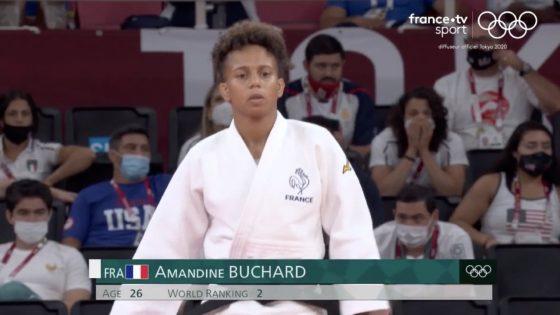 la judokate Amandine Buchard remporte l'argent