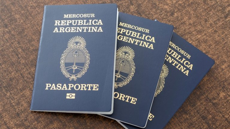 argentine passeport