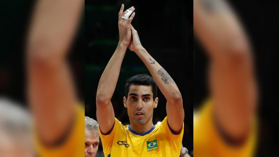 Douglas Souza, le volleyeur gay qui fait le buzz au Brésil