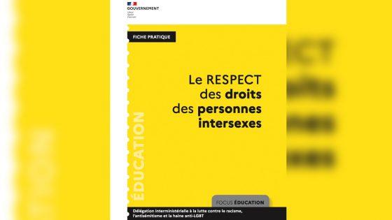 La Dilcrah publie sa fiche pratique sur le respect des droits des personnes intersexes