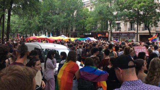 L'Inter-LGBT et les collectifs du pré-cortège «Pôle des Luttes» dénoncent des agressions transphobes lors de la Marche des Fiertés