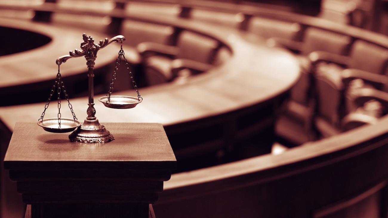 Symbole du droit et de la justice