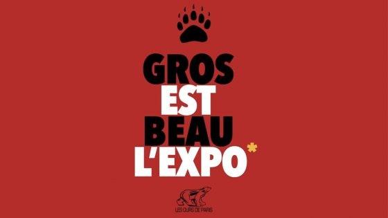 Découvrez «Gros est beau», l'expo des Ours de Paris