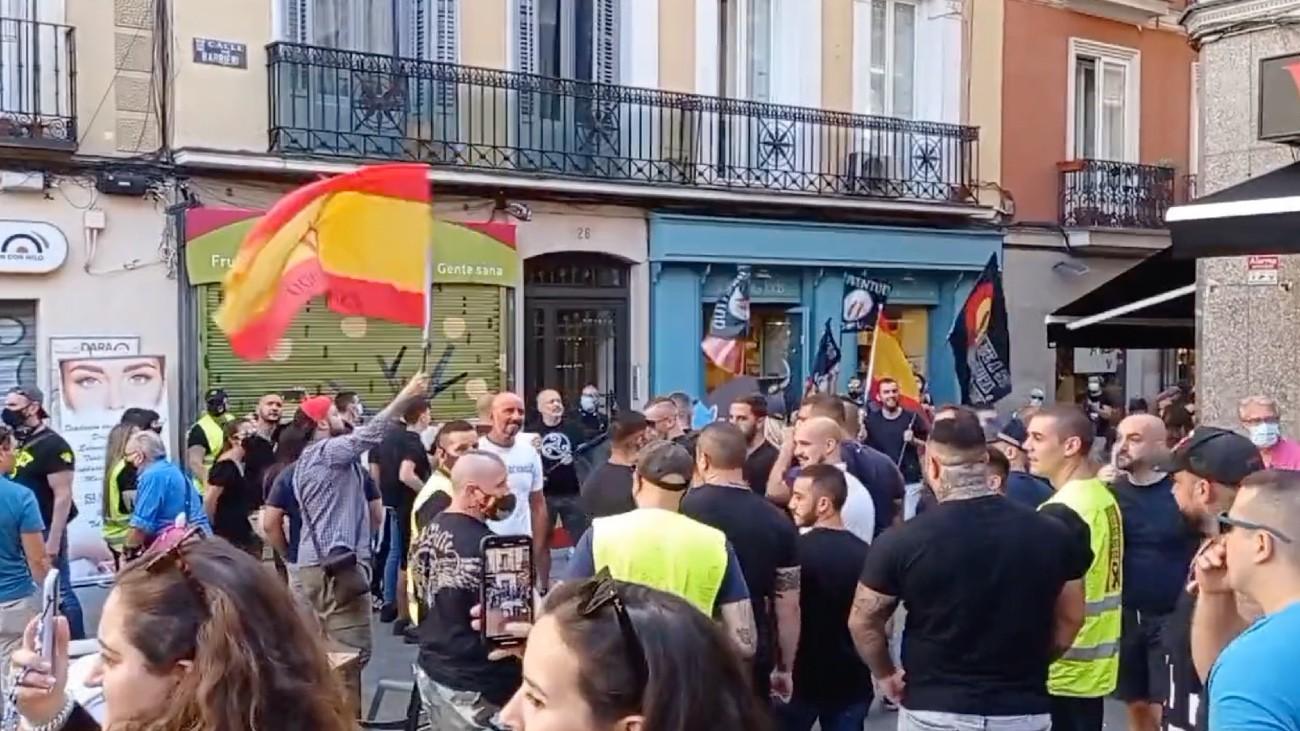 manifestations espagne chueca